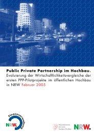 Public Private Partnership im Hochbau
