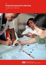 Project/programme planning Guidance manual - International ...
