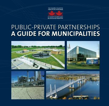 A Guide for MunicipAlities - PPP Canada