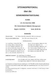 Gemeinderatssitzung (210 KB) - .PDF - Alpbach