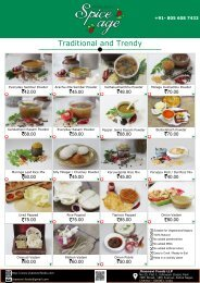 Jhaanavi Foods - Product Catalogue 17 July