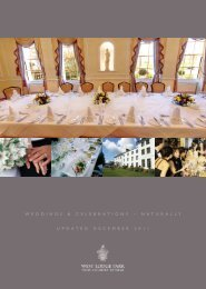 Weddings & Celebrations brochure... - Beales Hotels