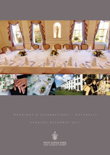 Weddings & Celebrations brochure... - Beales Hotels