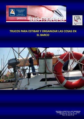 TRUCOS PARA ESTIBAR Y ORGANIZAR LAS COSAS EN EL BARCO - Fondear.org