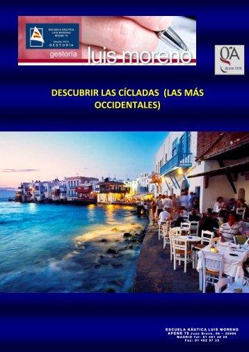 DESCUBRIR LAS CÍCLADAS  (LAS MÁS OCCIDENTALES) - Fondear.org
