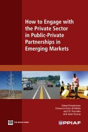 How to Engage with the Private Sector in Public-Private ... - ppiaf