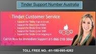 Tinder Customer Service Australia