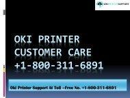 oki-printer-customer-care