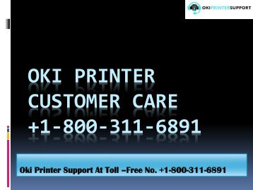oki-printer-customer-care