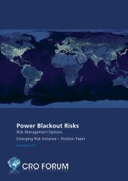 Power Blackout Risks - Allianz Global Corporate & Specialty