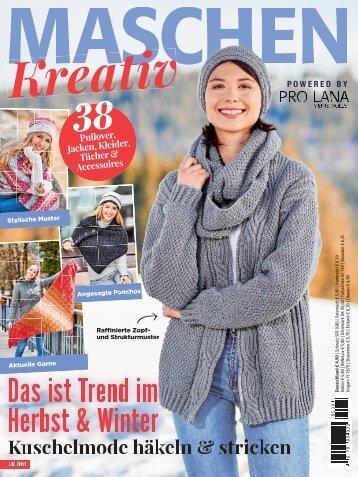 Maschen Kreativ - Das ist im Herbst & Winter Trend (LK001) - Blick ins Heft