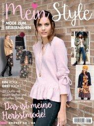 Nähtrends Sonderheft Mein Style (NT033) - Blick ins Heft