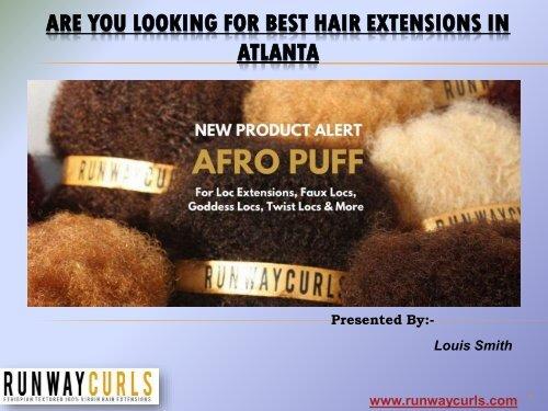 Looking For Best Hair Extensions in Atlanta