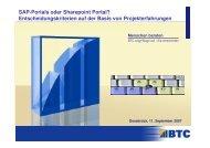 SAP-Portals oder Sharepoint Portal ... - aksapos