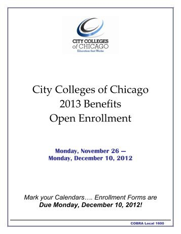 and Mothers' Health Protection Act - City Colleges of Chicago