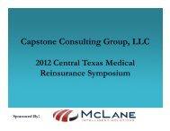 Capstone Consulting Group, LLC - Aquarius Capital