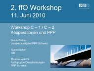 Kooperationen und PPP (Präsentation), PDF, 6000 kb - E-Government