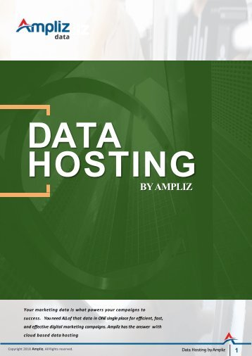 Data Hosting