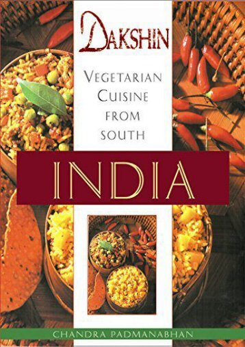 [+]The best book of the month Dakshin: Vegetarian Cuisine from South India [PDF]