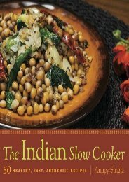 [+][PDF] TOP TREND Indian Slow Cooker - 50 Healthy, Easy, Authentic Recipes  [FREE]