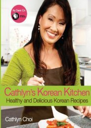 [+]The best book of the month Cathlyn s Korean Kitchen: Easy, Healthy and Delicious Recipes: Volume 1 [PDF]