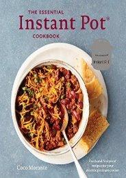 [+][PDF] TOP TREND Essential Instant Pot Cookbook  [NEWS]