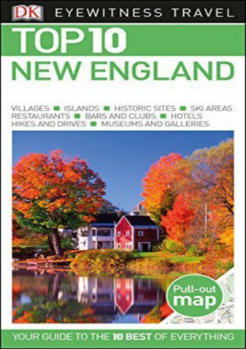 [+][PDF] TOP TREND Top 10 New England (DK Eyewitness Top 10 Travel Guides)  [NEWS]