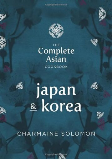 [+]The best book of the month Complete Asian Cookbook Series: Japan   Korea  [FULL]