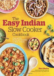 [+][PDF] TOP TREND The Easy Indian Slow Cooker Cookbook: Prep-and-Go Restaurant Favorites to Make at Home  [DOWNLOAD]