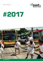 Geschäftsbericht 2017   Stadtwerke Tübingen