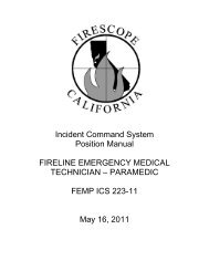Incident Command System Position Manual FIRELINE ... - Firescope