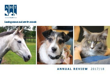 Animal Health Trust Annual Review 2017/18