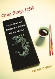 [+]The best book of the month Chop Suey, USA: The Story of Chinese Food in America (Arts   Traditions of the Table: Perspectives on Culinary History) (Arts and Traditions of the Table: Perspectives on Culinary History)  [READ]