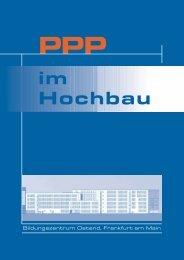 PPP im Hochbau (pdf, 812 KB) - Frankfurt am Main