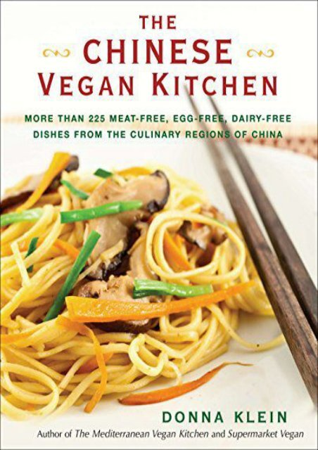 The Best Book Of The Month Chinese Vegan Kitchen More Than