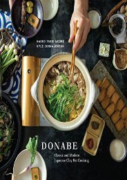 [+]The best book of the month Donabe: Traditional and Modern Japanese Clay Pot Cooking  [DOWNLOAD]
