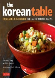 [+][PDF] TOP TREND Korean Table: From Barbecue to Bibimbap - 100 Easy-to-prepare Recipes  [NEWS]