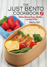 [+][PDF] TOP TREND The Just Bento Cookbook 2: Make-Ahead, Easy, Healthy Lunches To Go  [READ]