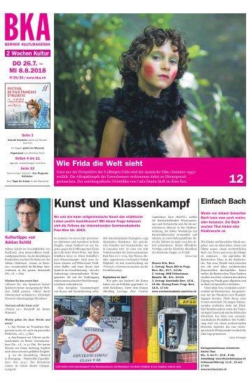 Berner Kulturagenda N° 29-30