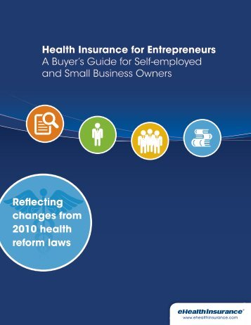 Buyer's Guide - Health Insurance for Self-employed and Small ...