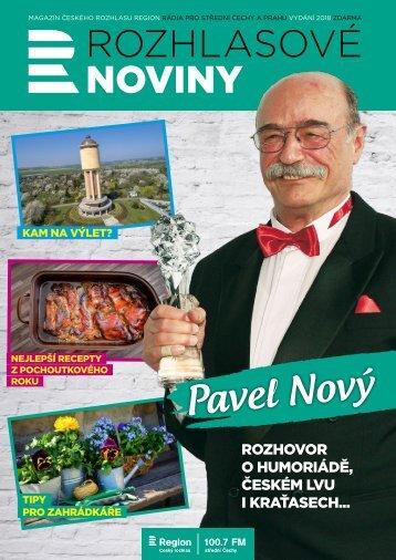 Rozhlasové noviny - Region - léto 2018