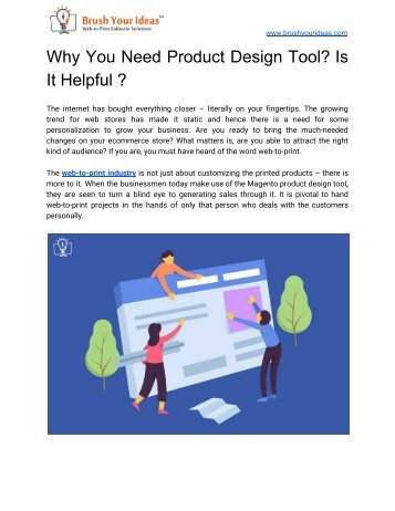 Why You Need Product Design Tool? Is It Helpful ?