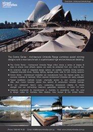 Centre Series Architectural Umbrella