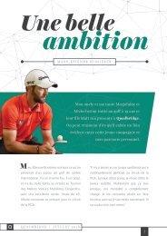 Une belle ambition - Marc-Étienne Bussières et Quadbridge
