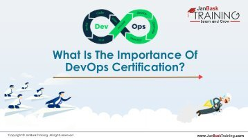 What Is The Importance Of DevOps Certification