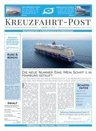 EURESAreisen Kreuzfahrt-Post - Ausgabe 03 / 2018
