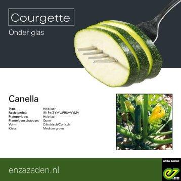 Leaflet Courgette Canella 2018