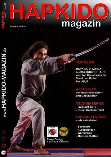 HAPKIDO-magazin 2018-03