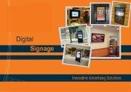 Download Digital Screens Brochure - Exhibition Stands