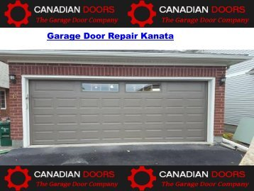 Garage Door Repair Kanata